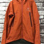 アークテリクスのジャケット修理案内|ライトシェル・ハードシェル
