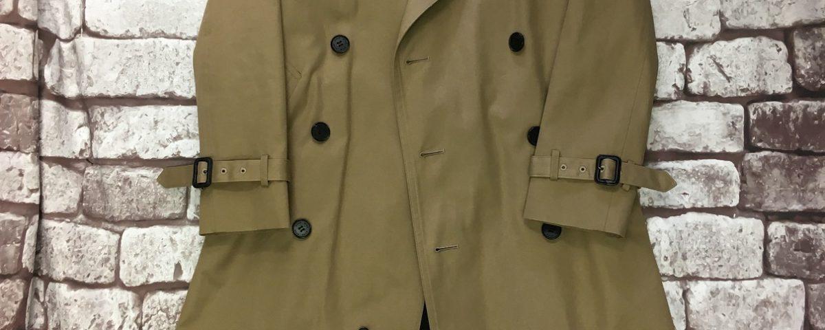 コート着丈詰め・袖丈詰め