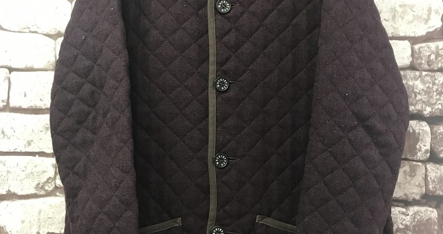 マッキントッシュのキルティングジャケット