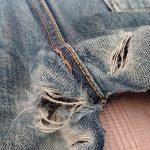 エビスジーンズのリペア案内|修理料金や方法について